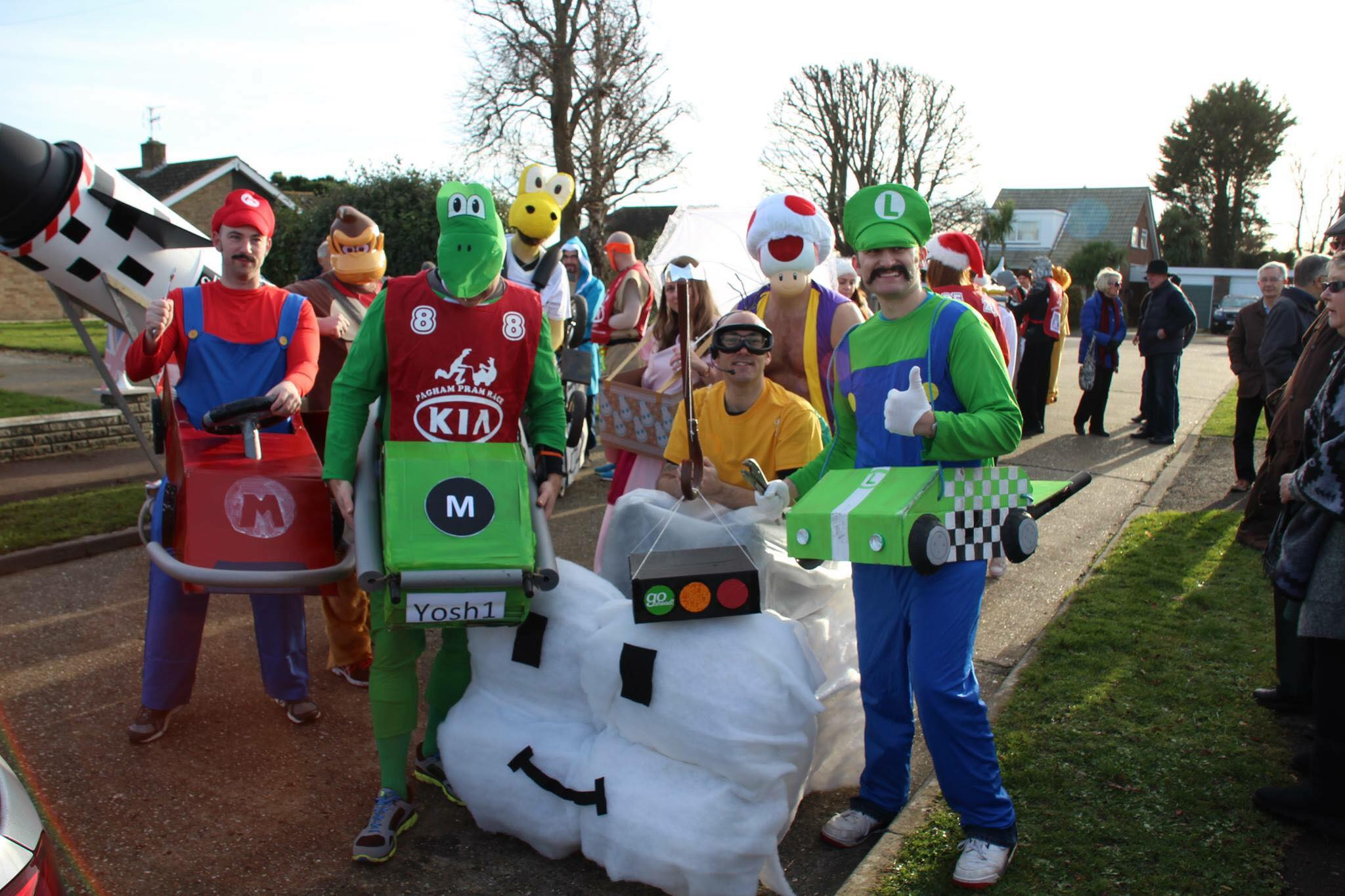 Covers Bognor Regis to support  Pagham Pram Race for third year