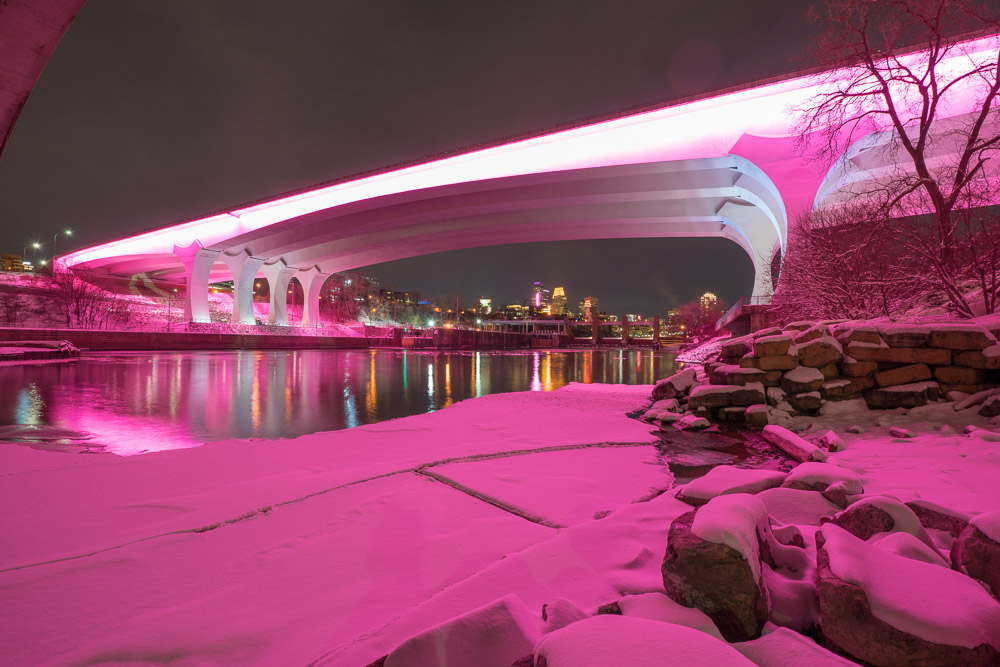 Now you can make landmarks, buildings, bridges shine with a simple swipe on your smartphone
