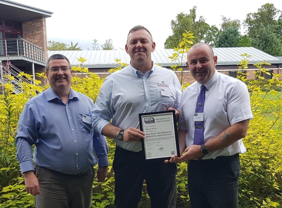 Platinum Facilities Maintenance gets seal of approval as it joins British Engineering Services Association