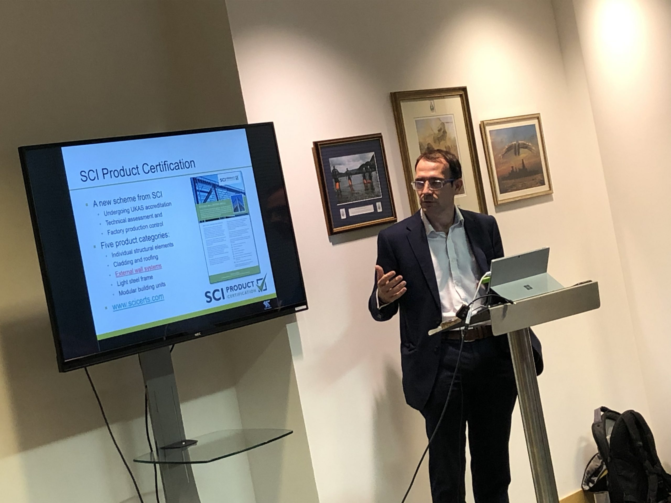 FIS and SCI launched the Steel Framing System Guide with industry partners