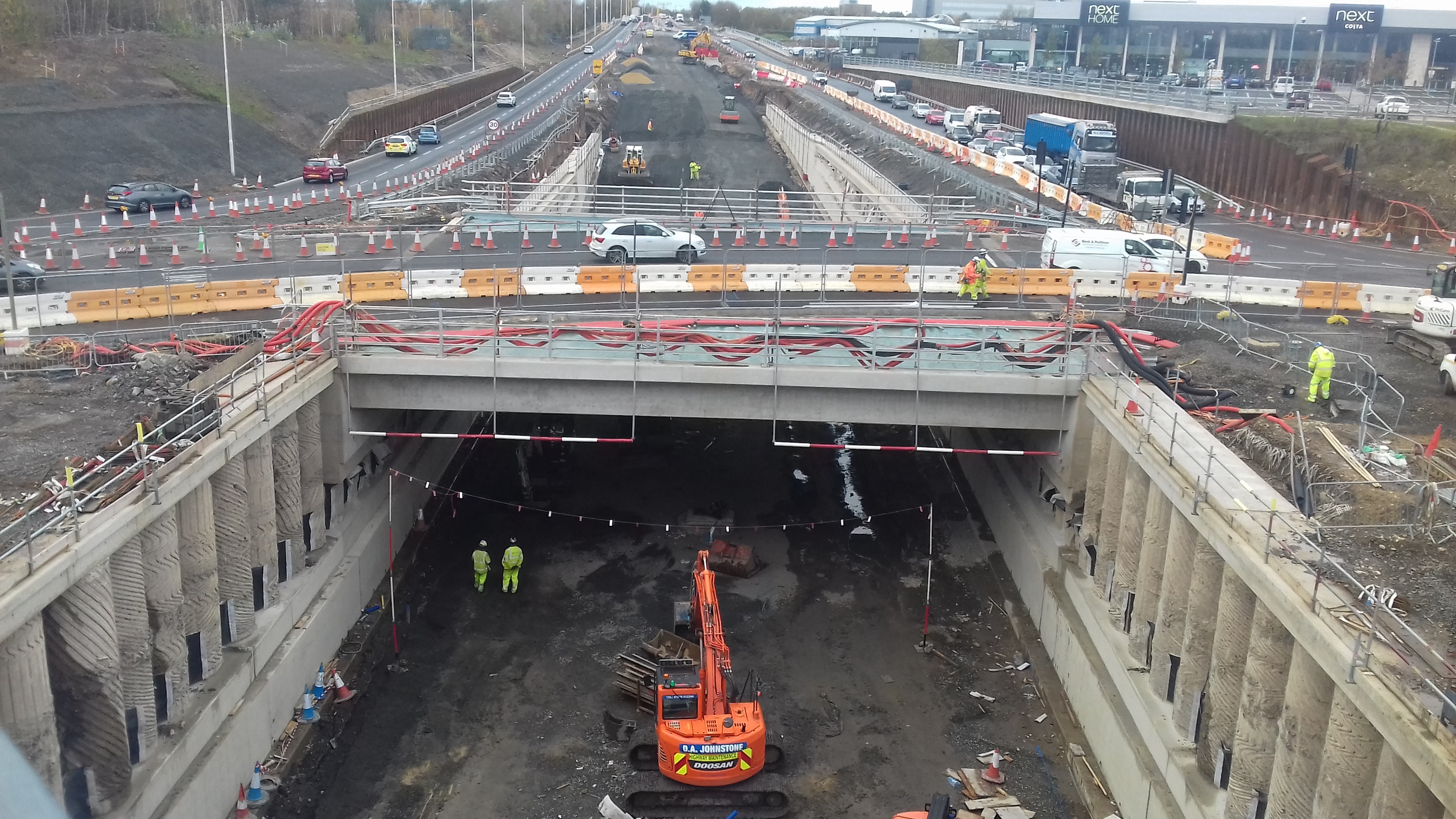 Civil engineers to complete work on £75m Highways England Silverlink project