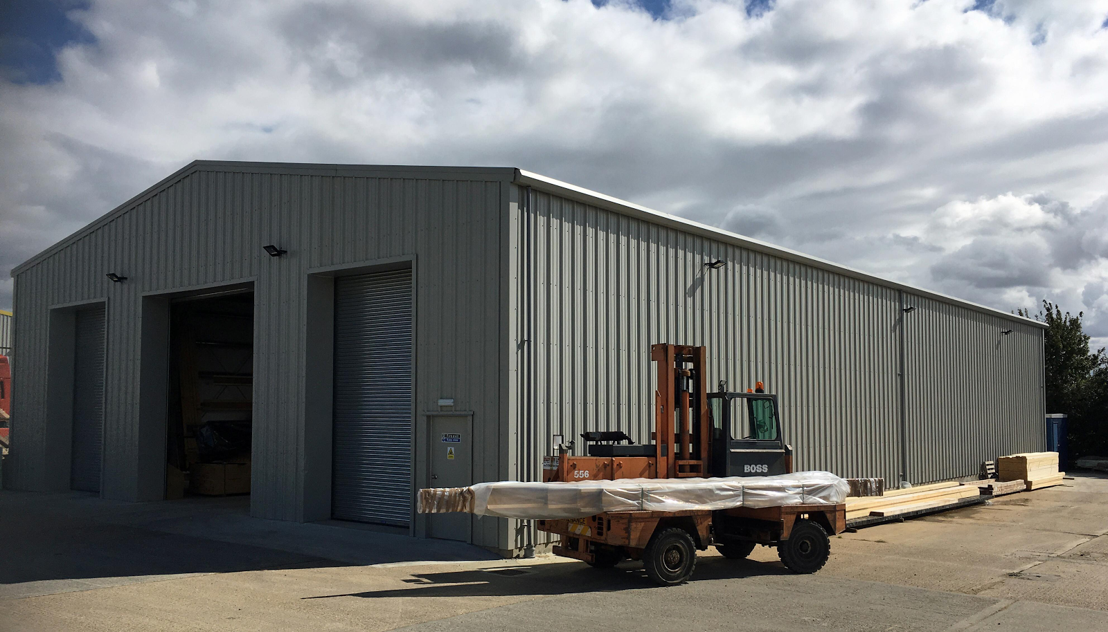Smart-Space Announced Completion of Bolt Building Supplies Warehouse