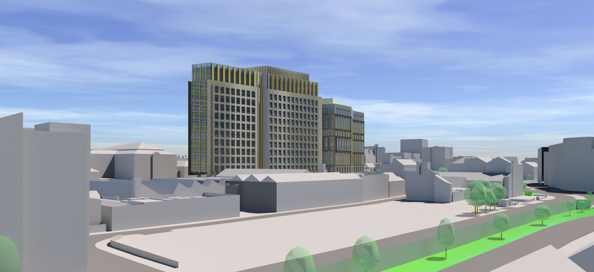 PLANNING GOES IN FOR 10 & 13 STOREY OFFICE DEVELOPMENT SET TO CHANGE NOTTINGHAM LANDSCAPE & CREATE THOUSANDS OF JOBS
