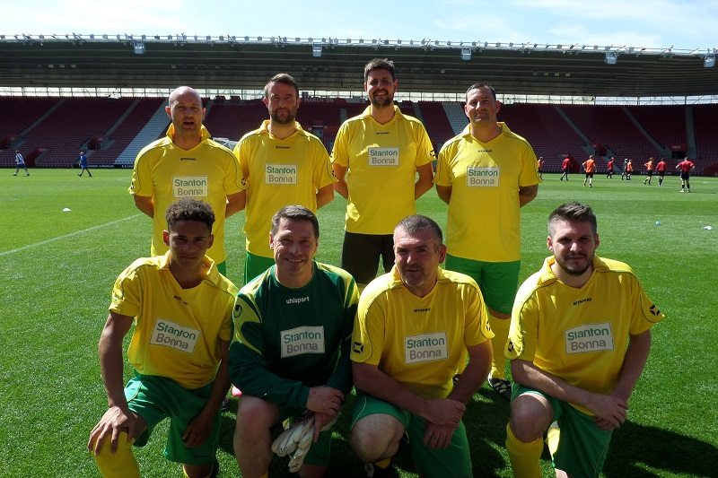 Rudridge Was Joined by Football Legends at Its Event