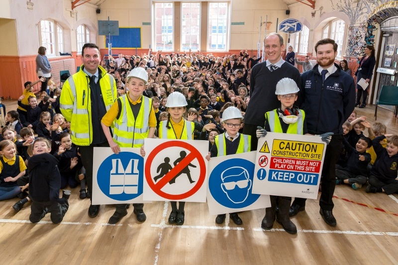 Barratt Homes Delivers Site Safety Discussion
