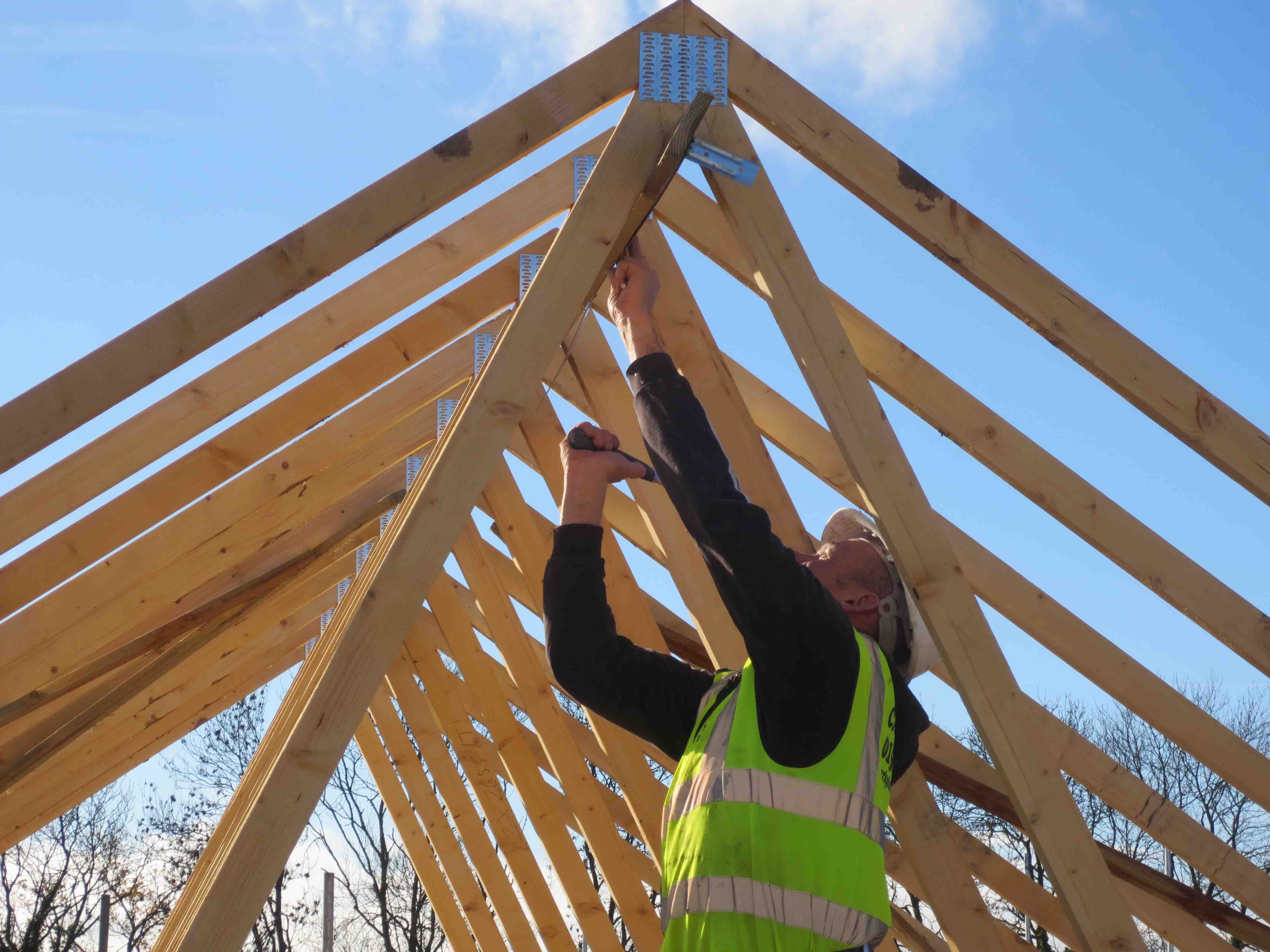 Housebuilders covered with updated roofing guidance