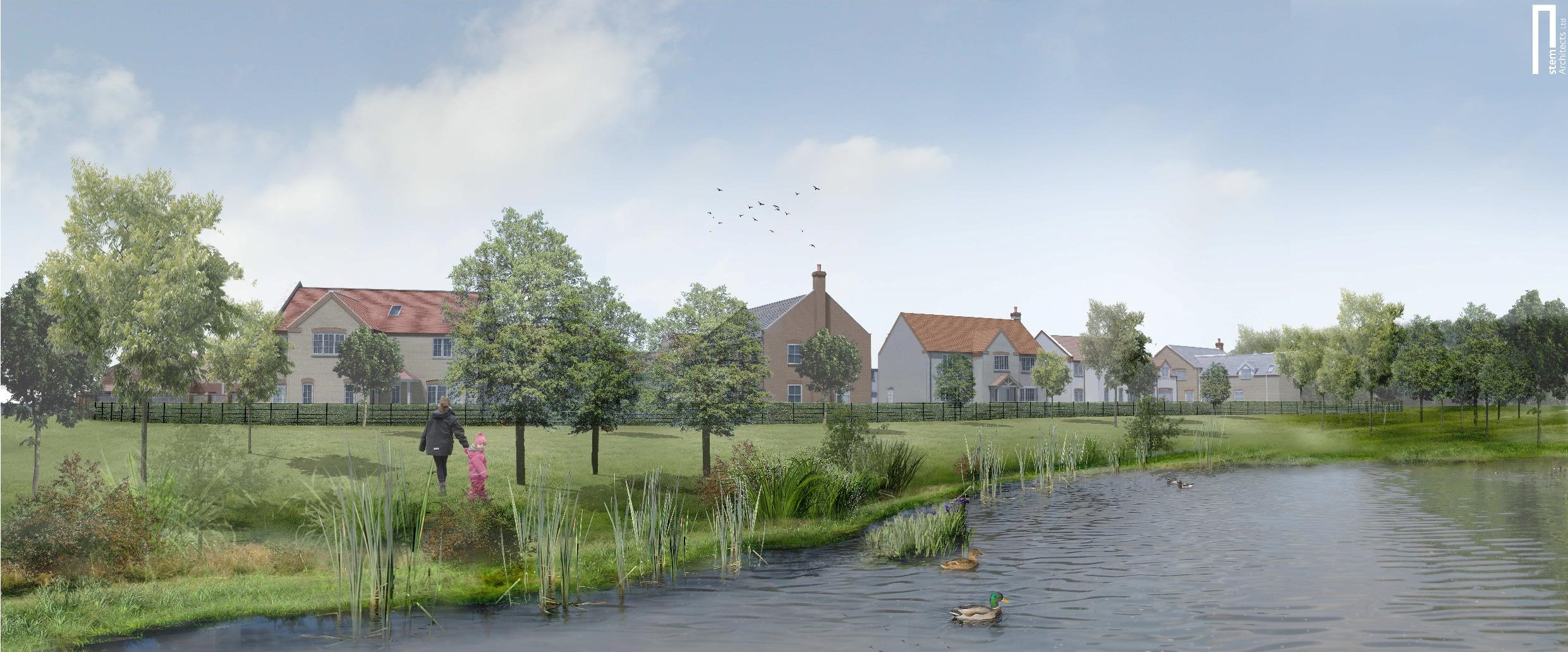 Inspired by nature and village life - The new Lincolnshire development marrying modern living with rural beauty