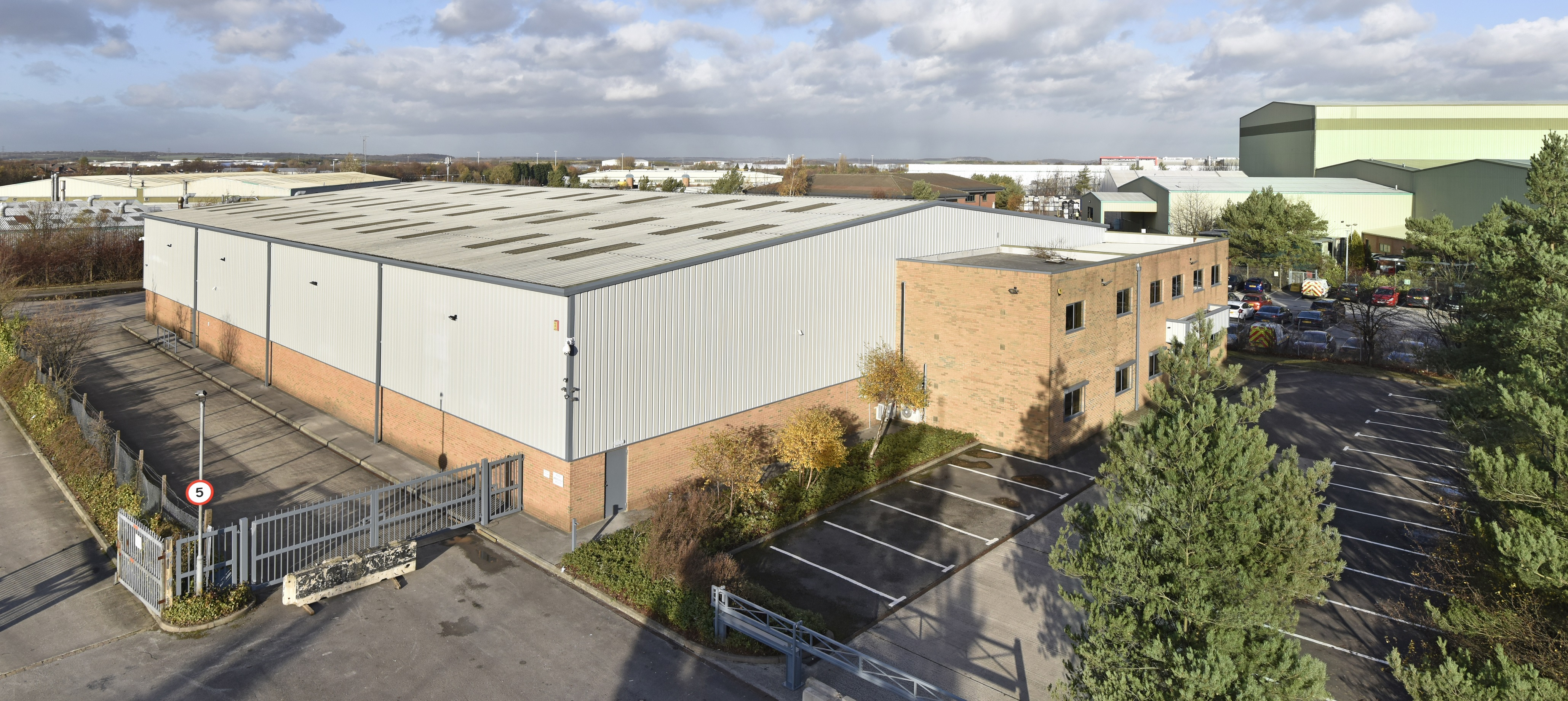 Wakefield industrial unit comes to market