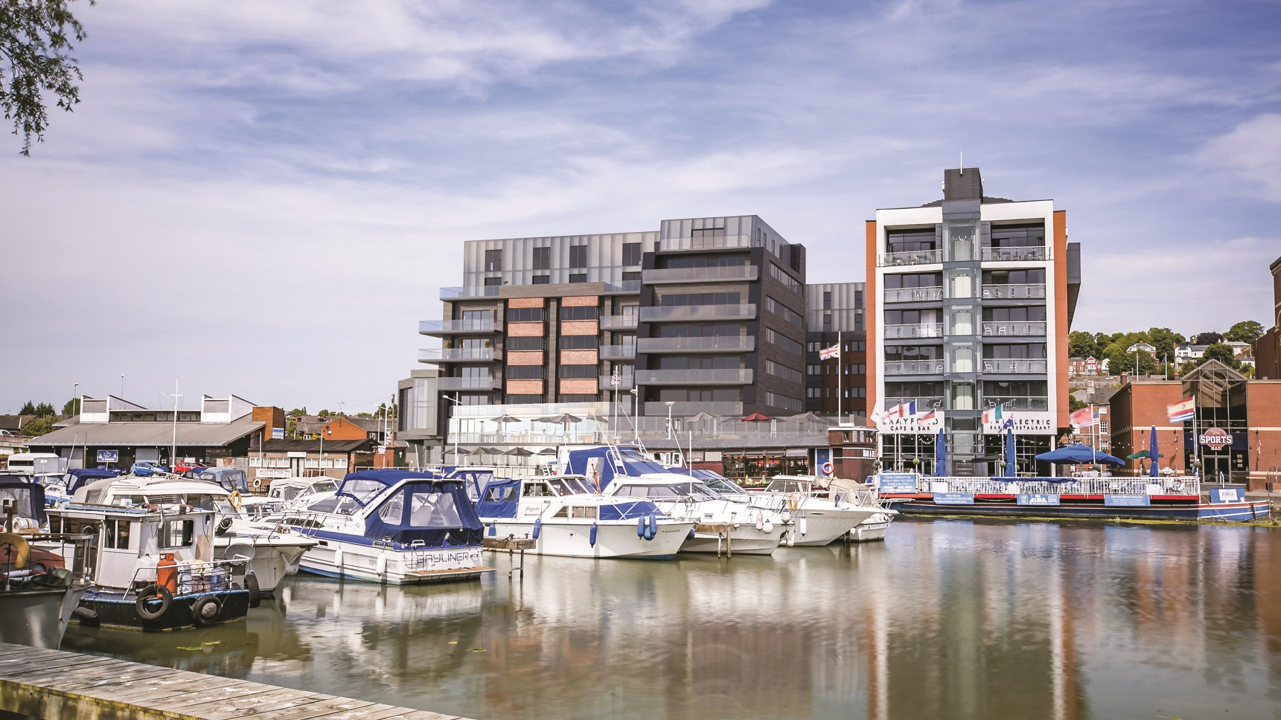 Last chance to snap up luxury waterside apartments in one of the UK's safest counties