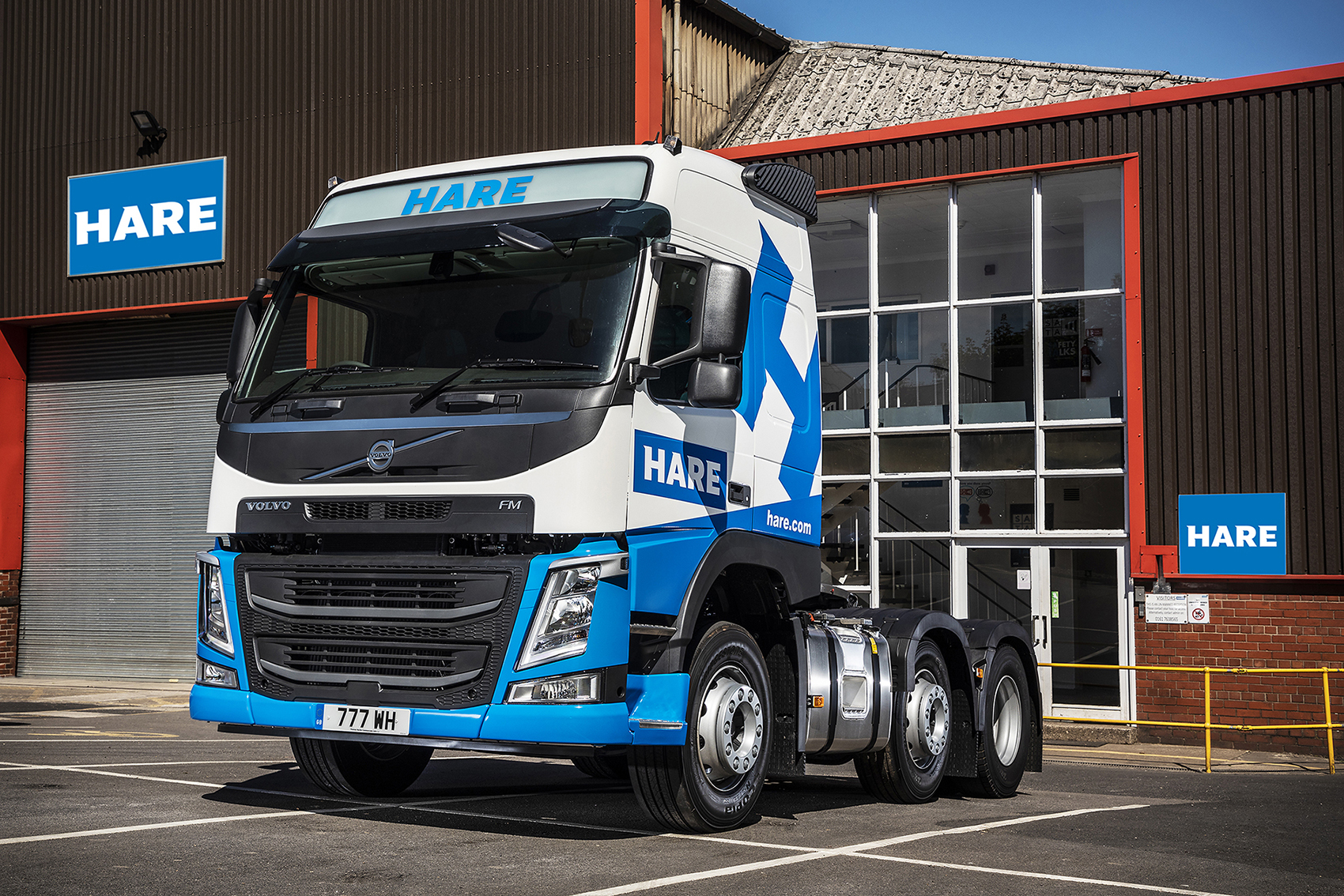 A NEW VOLVO FM SHOWS ITS METTLE AT WM. HARE GROUP