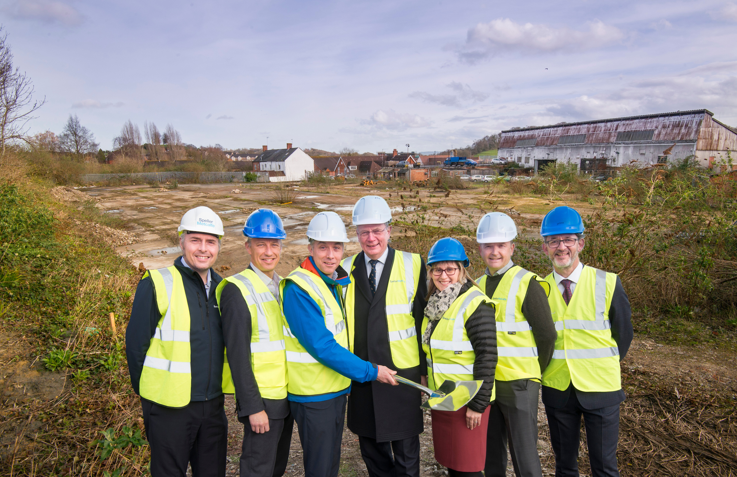 CONSTRUCTION STARTS ON NEW HOSPITAL WORKER HOUSING