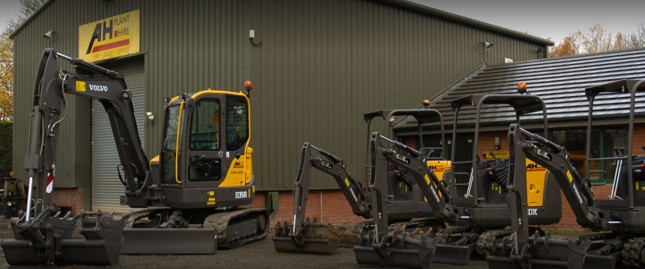 AH Plant Hire Upgrades Its Plant Body