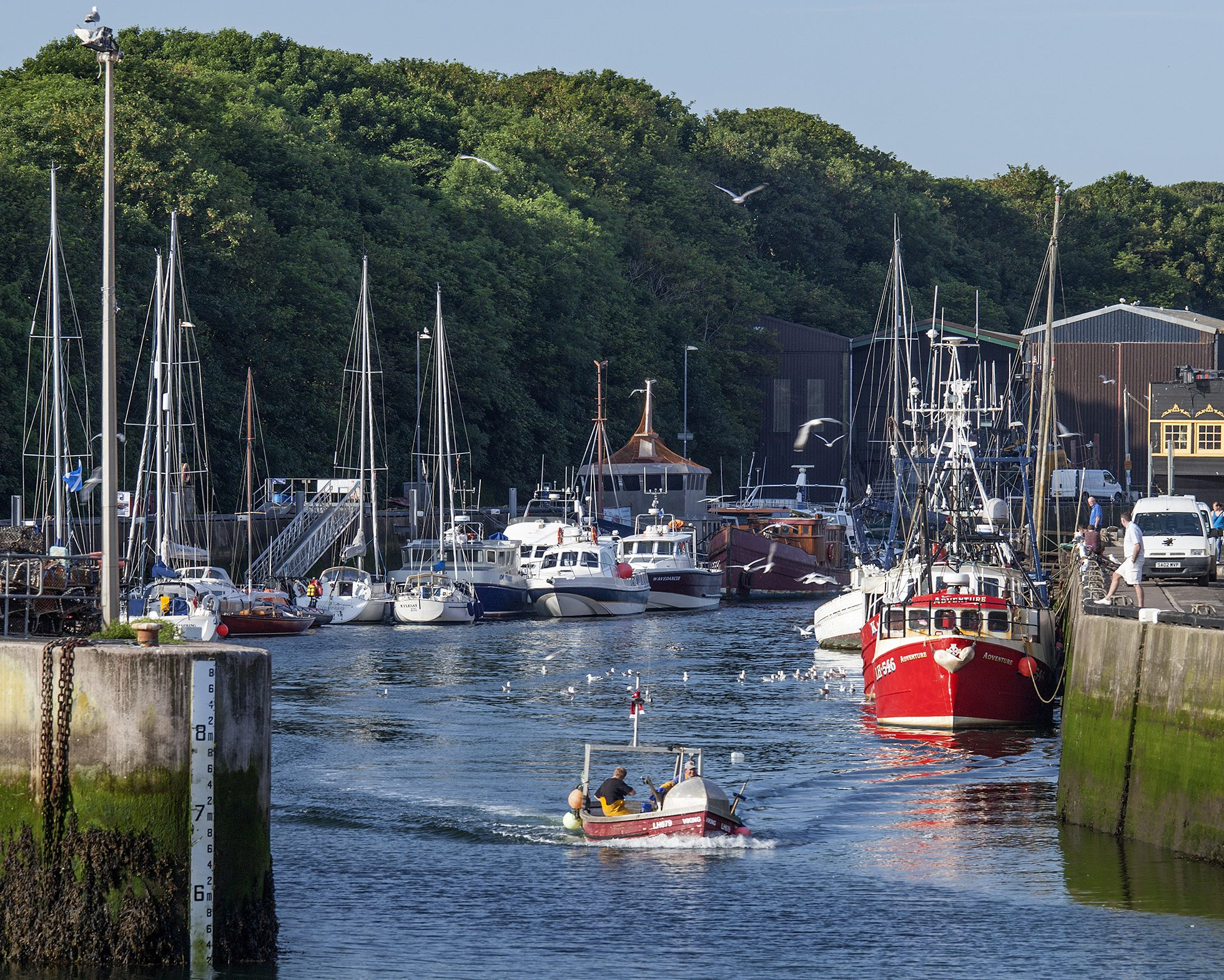 Planning permission granted as Applied Engineering Design takes on role in regeneration of Eyemouth boat yard