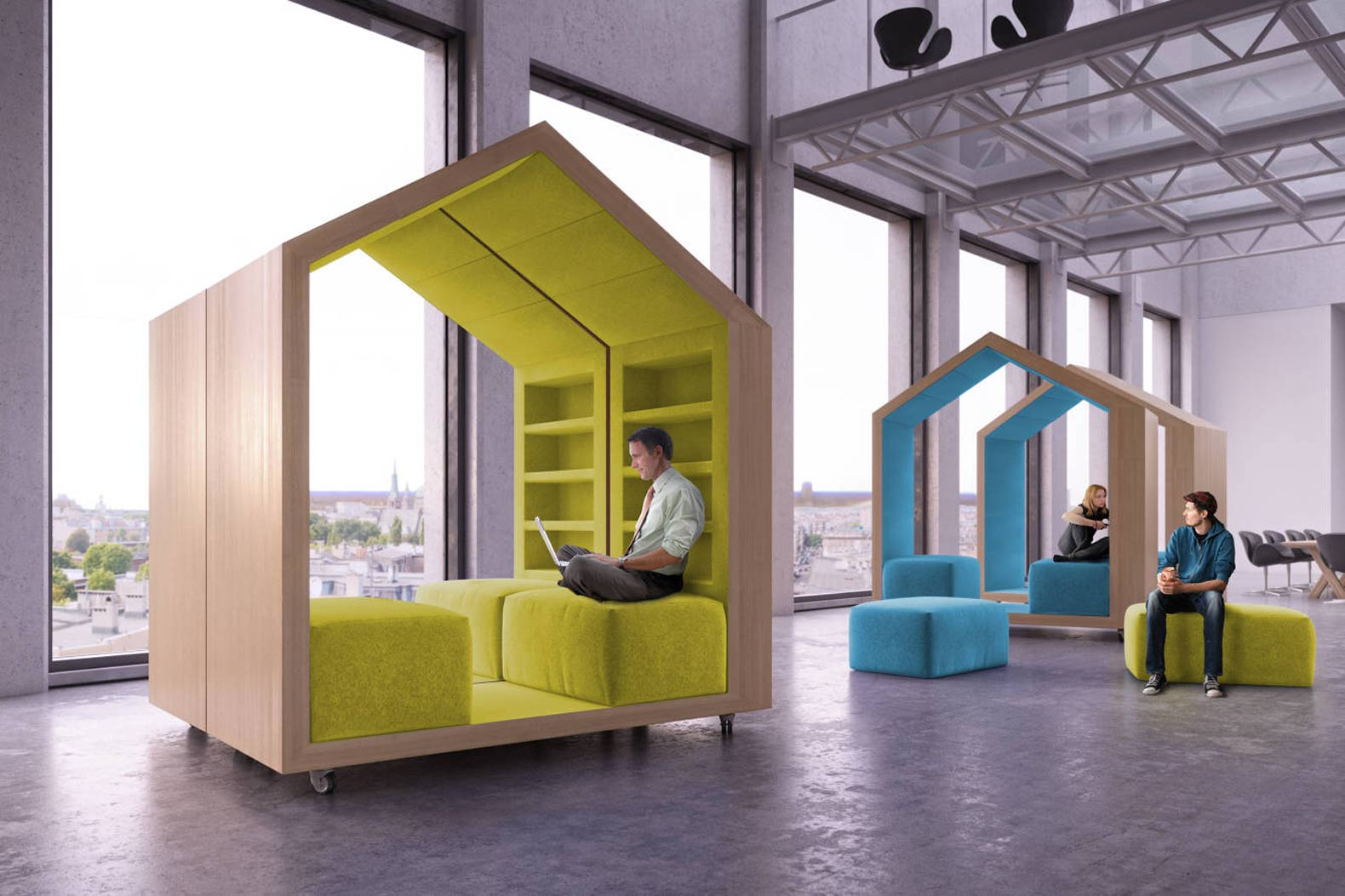 Four in five flexible office space users enjoy higher productivity levels - The Instant Group