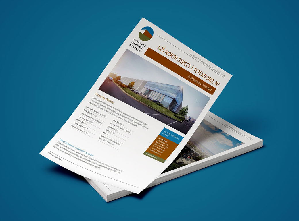 Visibility for your company or project with flyers