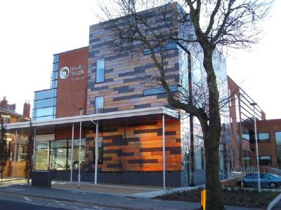 First Glimpse Inside £12m Dudley College Block