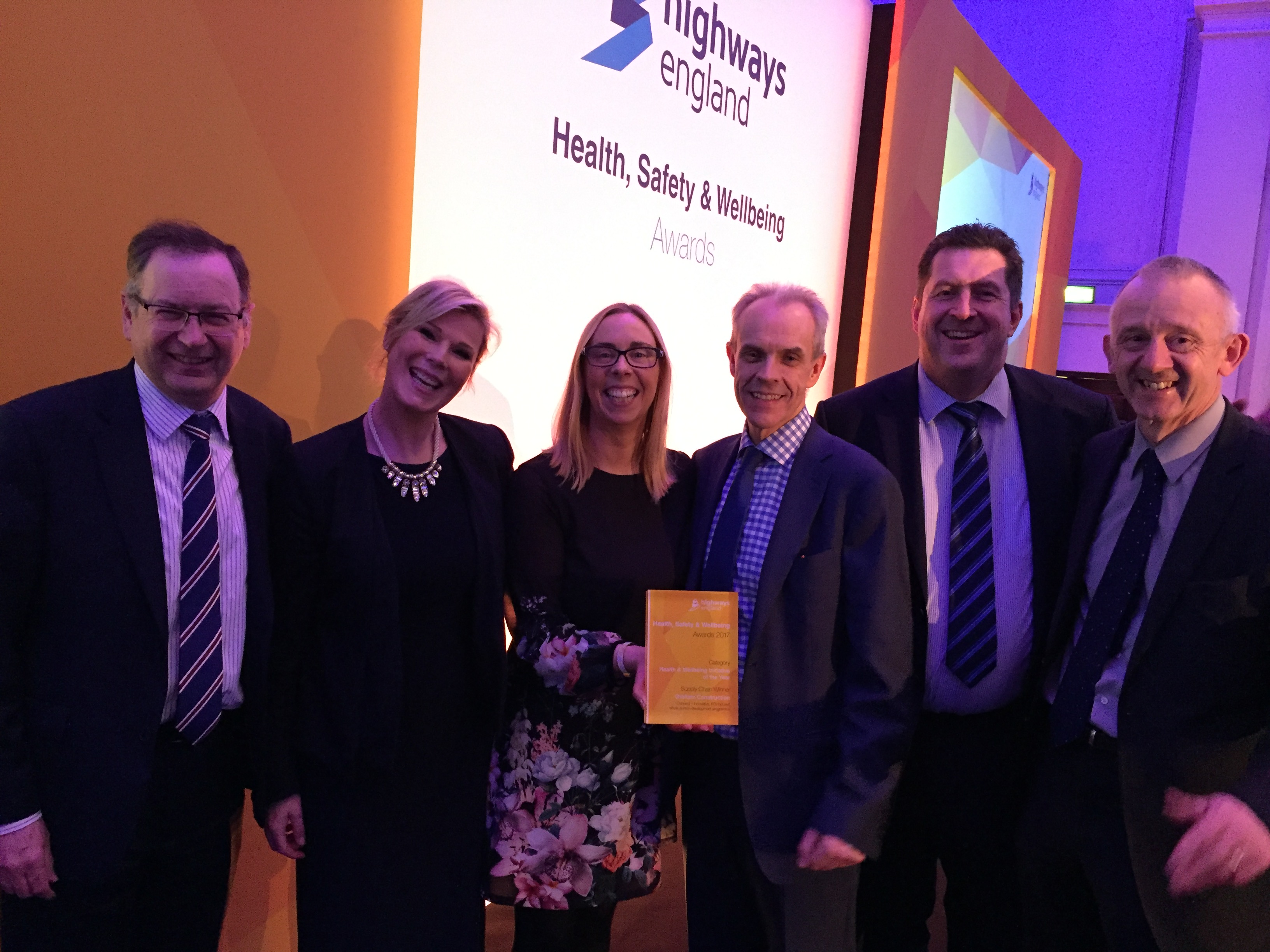 GRAHAM tops Health, Safety & Wellbeing at Highways England Awards