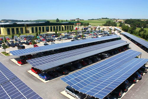 Demand for large scale solar carports results in significant growth of FlexiSolar operations team.