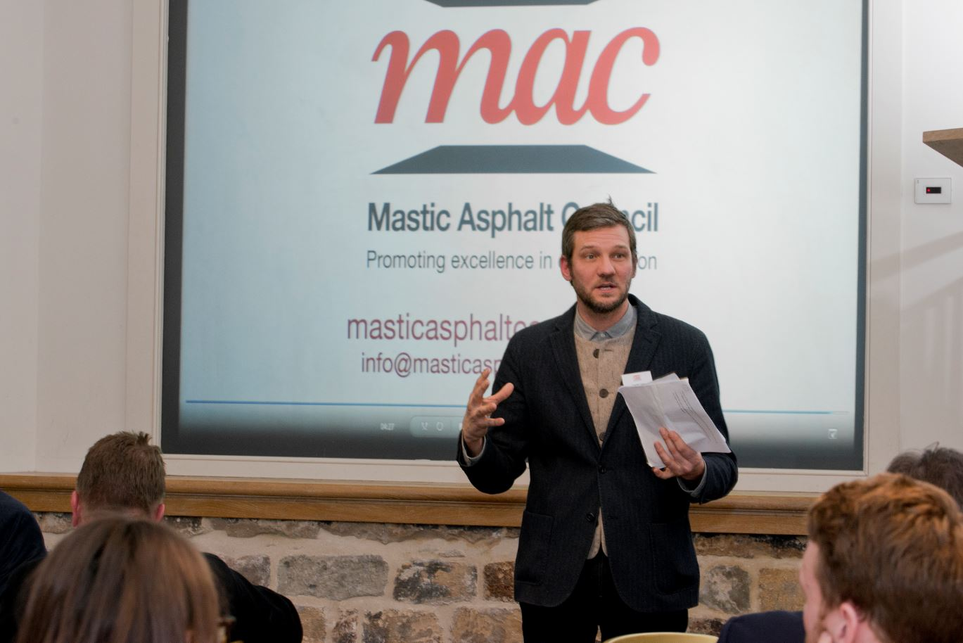 Mastic Asphalt Council Hosts Event to Celebrate the Use of Mastic Asphalt in Modern Construction