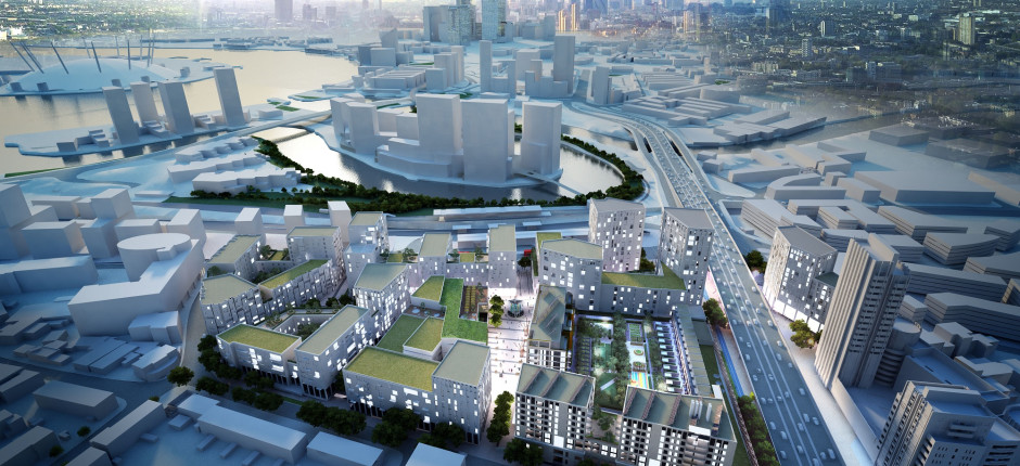 Property firm wins contract on £600m London scheme