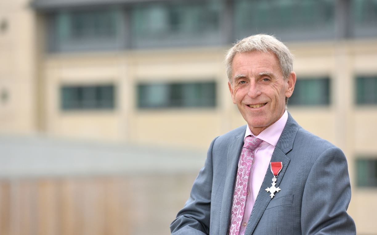 Uni's long-serving Director of Estates and Facilities becomes Deputy Lieutenant of West Yorkshire