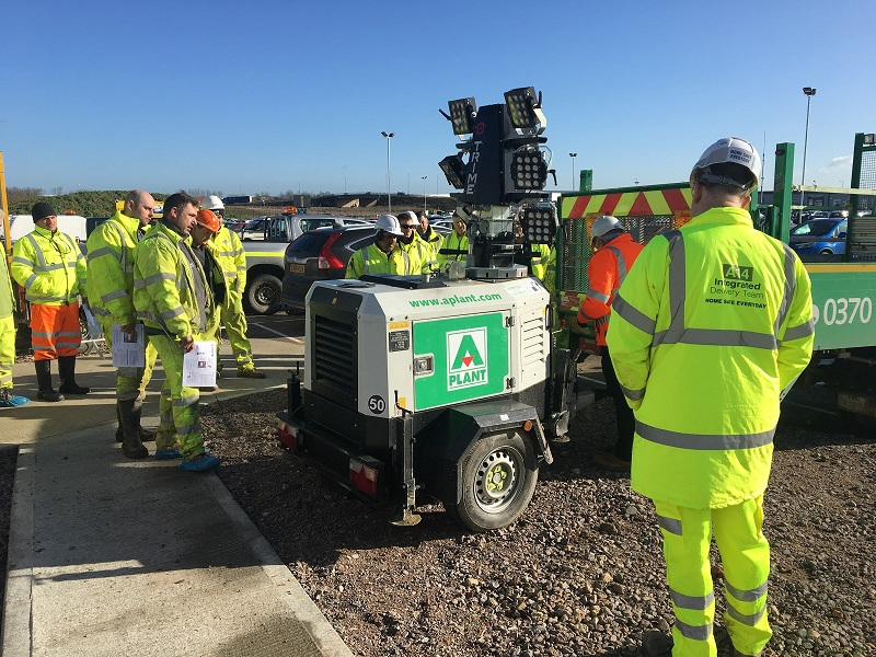 Trime UK Offers Training to A-Plant