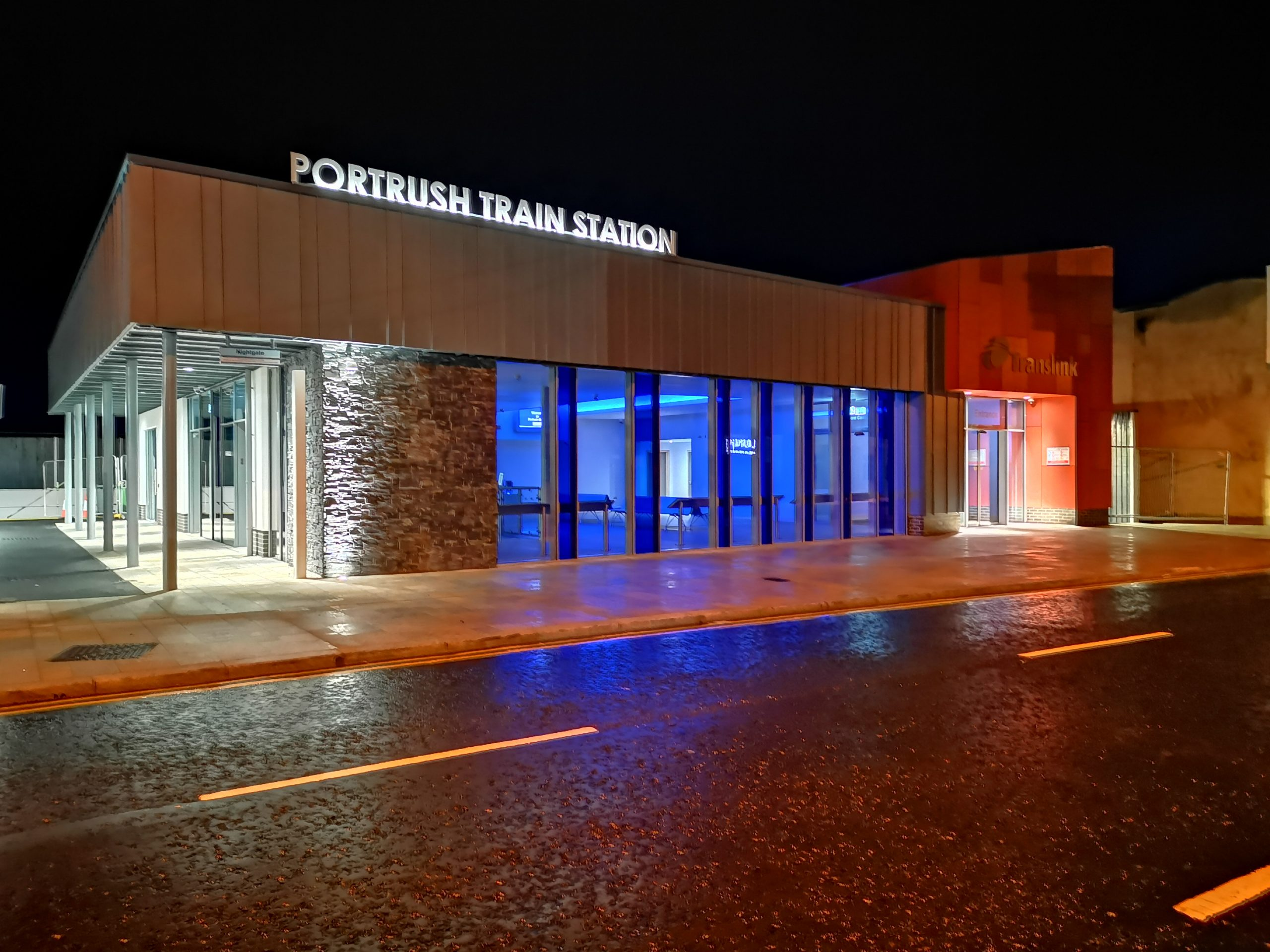 GRAHAM hands over new £5.6m Portrush Train Station ahead of 148th Open