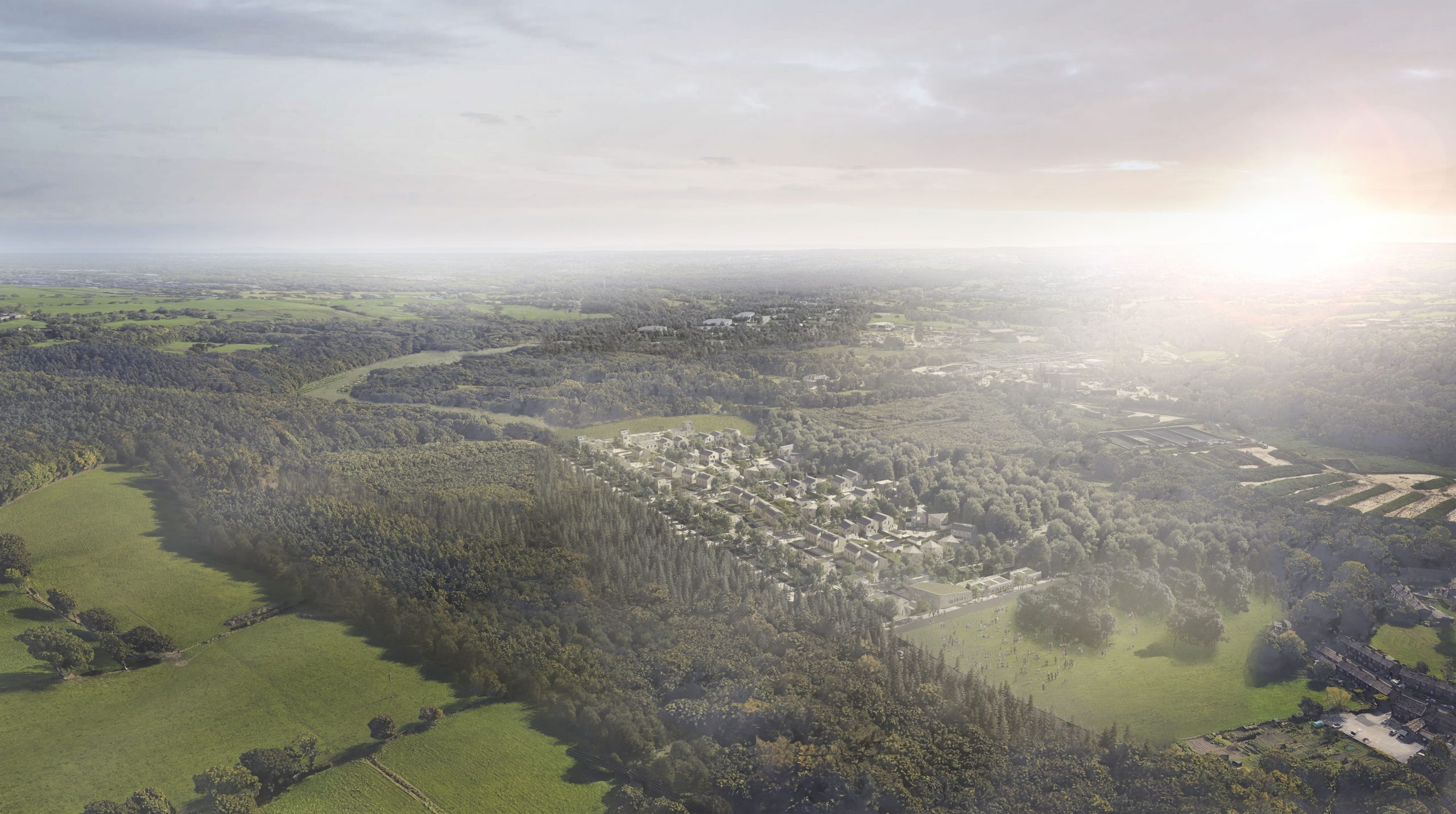 YORKSHIRE WATER SUBMITS PLANNING FOR EXEMPLAR SUSTAINABLE DEVELOPMENT  Esholt Plans Submitted