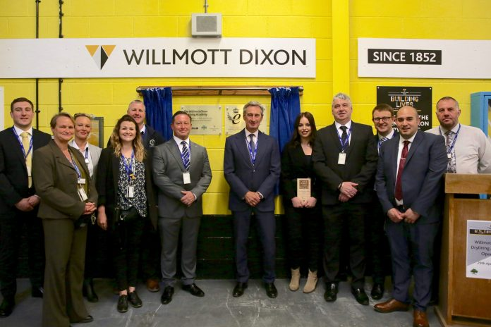 Willmott Dixon launches drylining training at Kent prison
