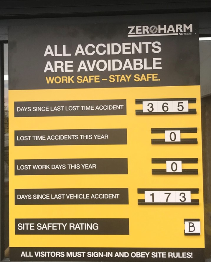 New safety performance displays to be launched  across SIG Distribution