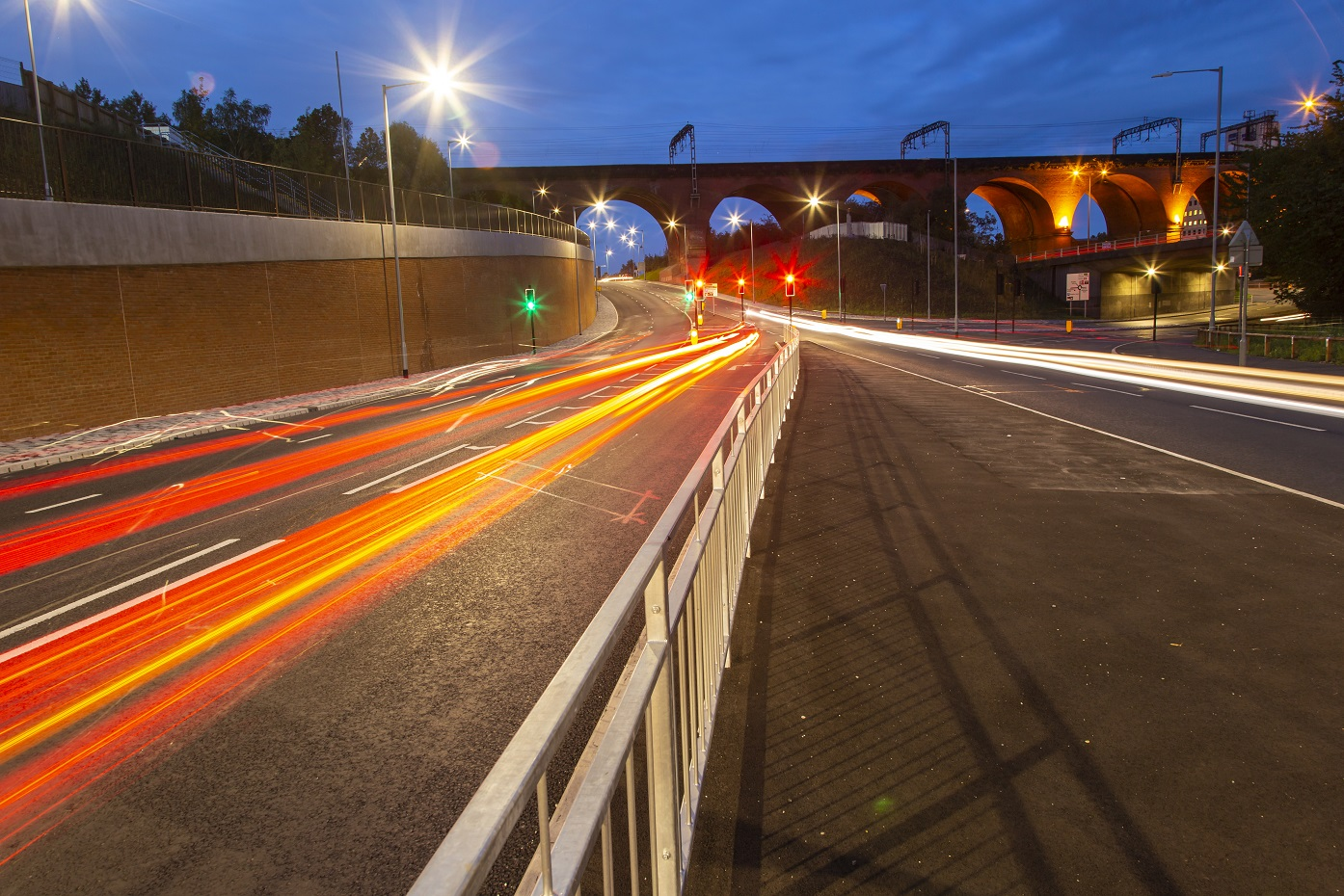 GRAHAM completes major new £8m link road for Stockport Council
