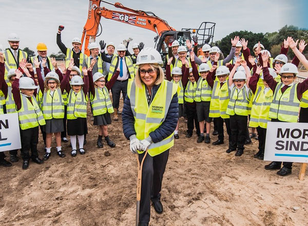 Construction Begins on School Expansion