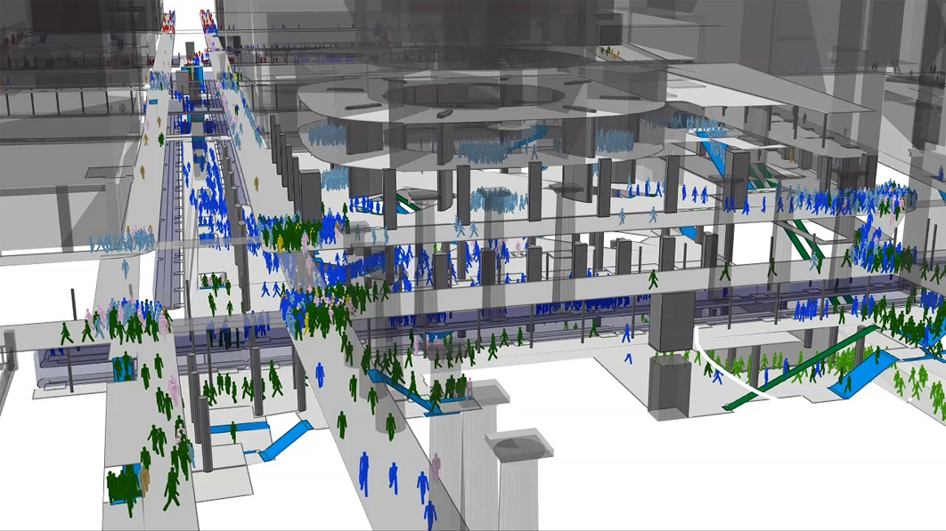 The Hajj Pilgrimage – using crowd simulation software to tackle the challenges of large-scale gatherings