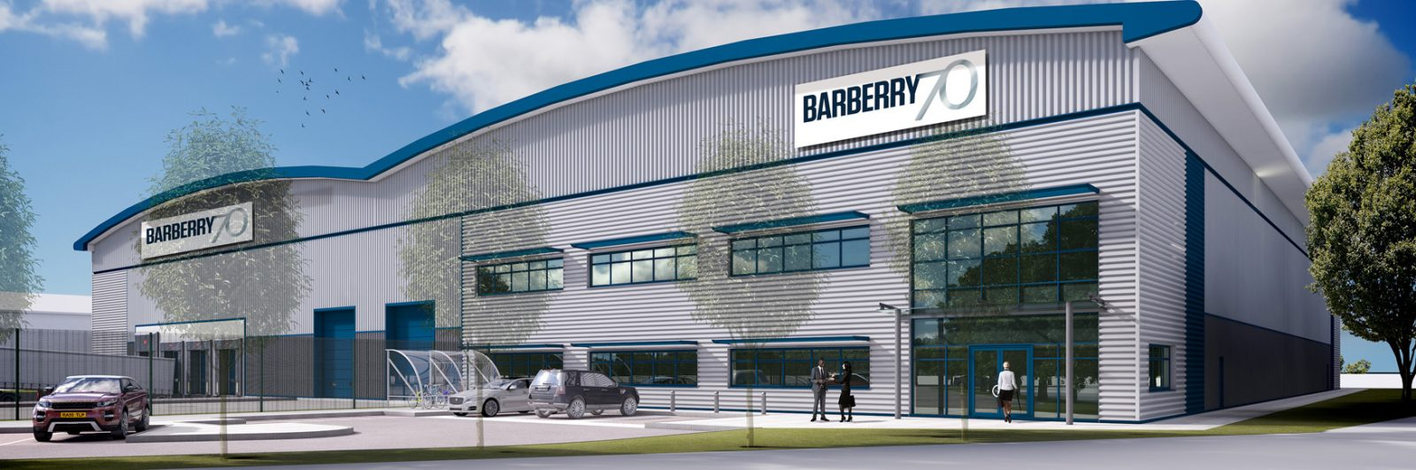 Barberry developing speculative warehouse in Daventry