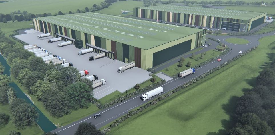 St Francis Group and iSec announce major development to build five new warehouses.