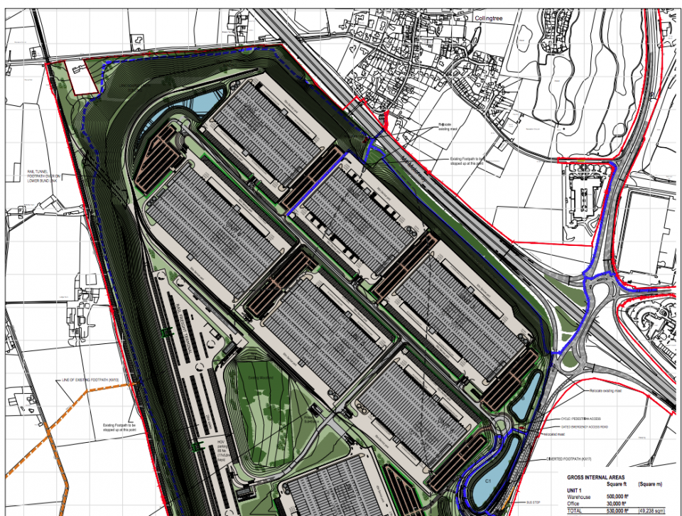 Roxhill wins approval for 5 million sq ft East Midlands rail freight terminal