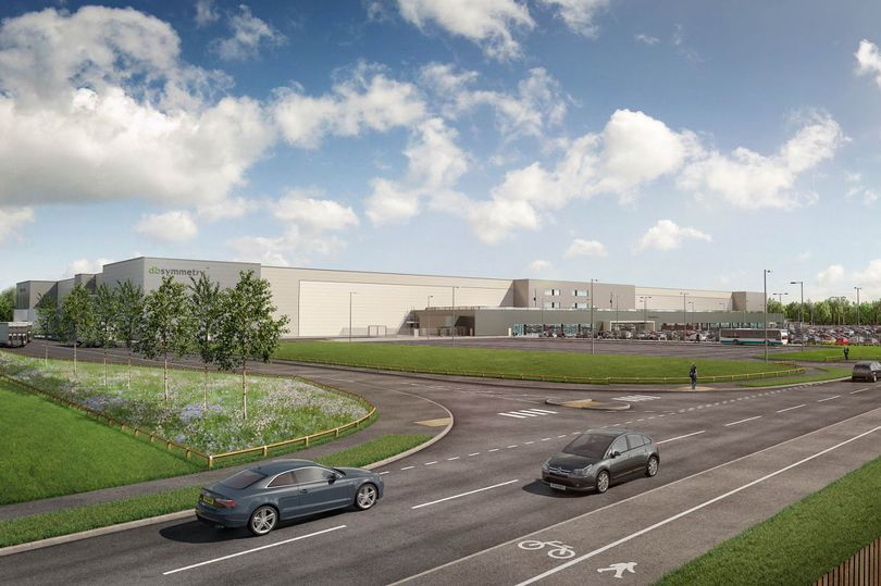 Plans for massive logistics centre unveiled - The New Amazon Warehouse by the A66 takes shape