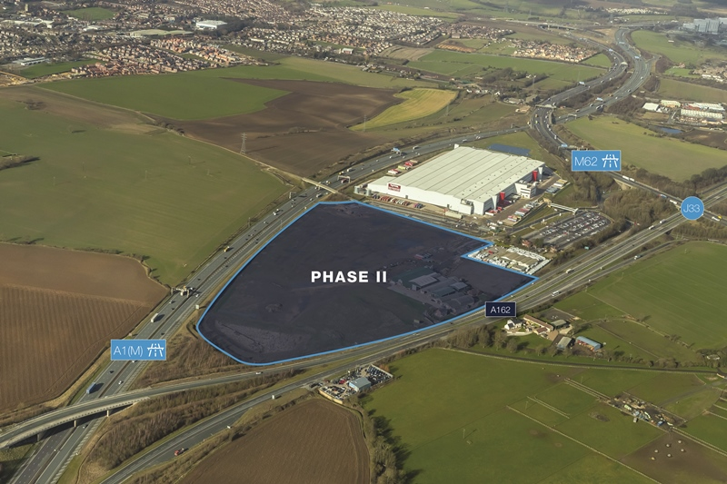 £50m shed near Wakefield to be built by leading contractor Caddick