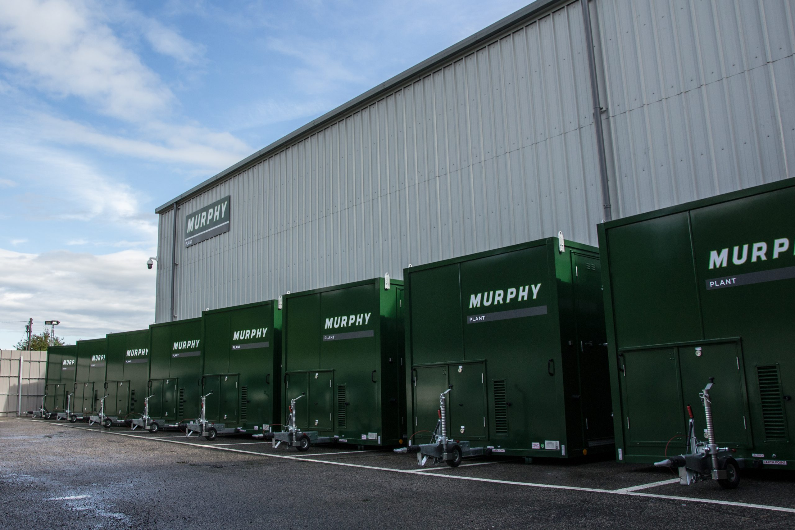 Murphy Plant increase their fleet of temporary welfare units with EasyCabin