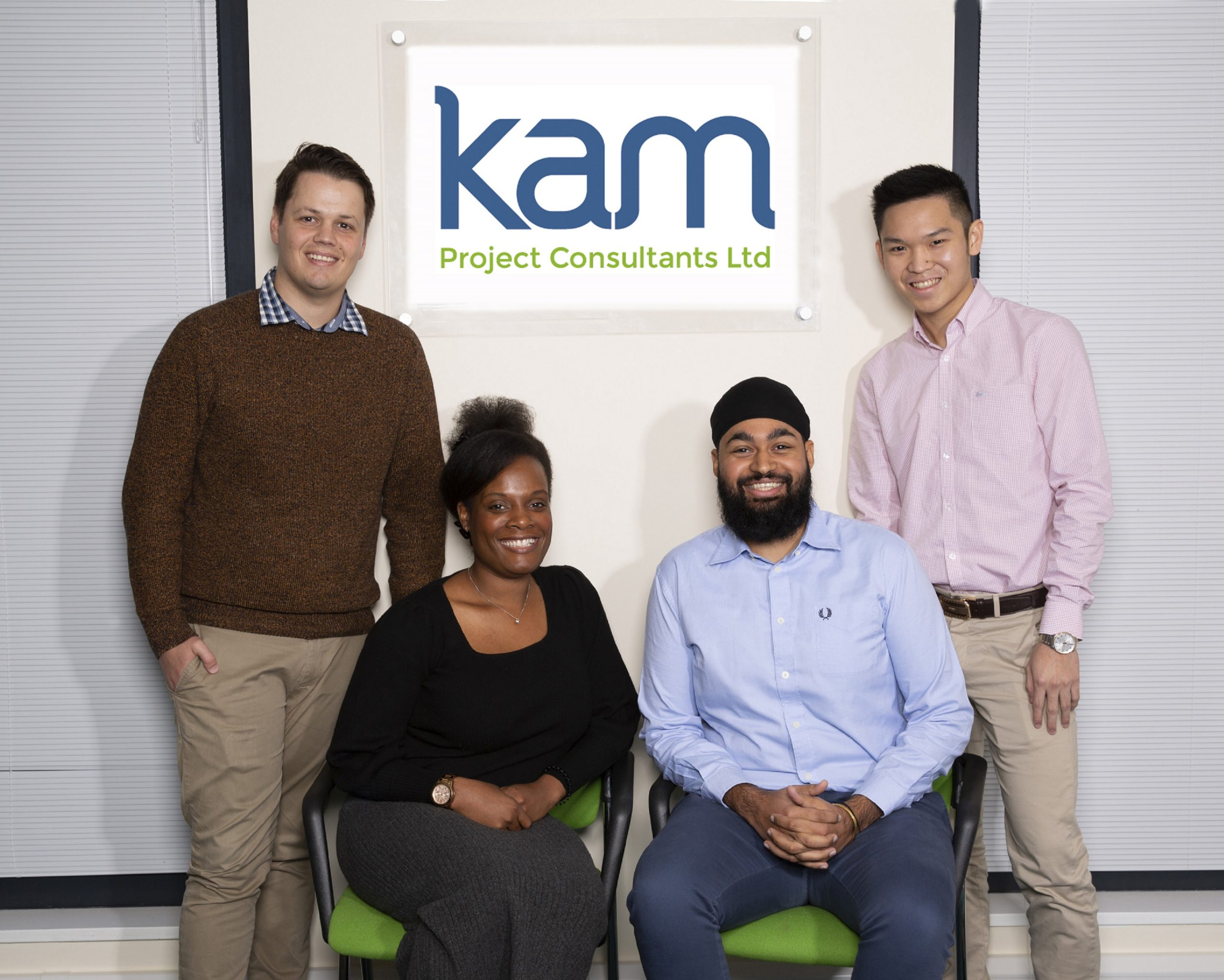 KAM Project Consultants bolsters its Milton Keynes office with four new hires