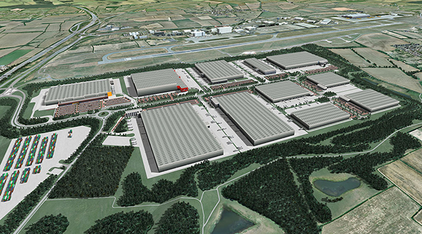 New logistics and warehouse construction keeps growing