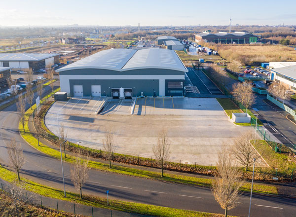 Latest Phase Complete At Liverpool Business Park