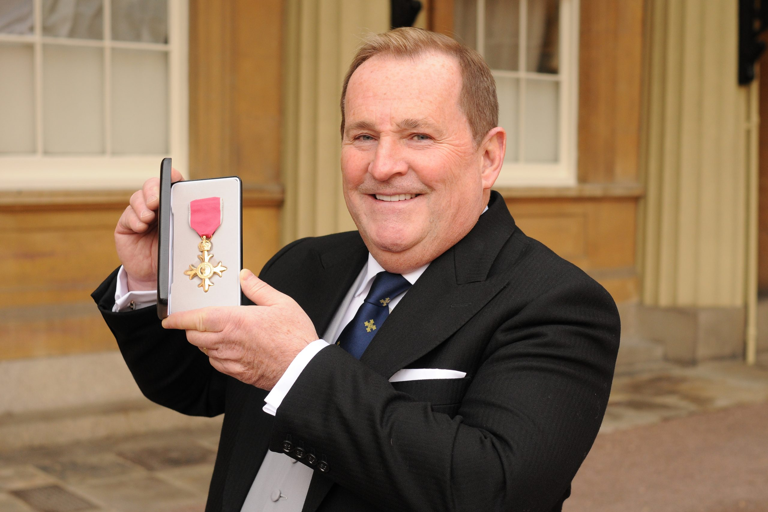 Bell Group Chairman awarded OBE at Buckingham Palace