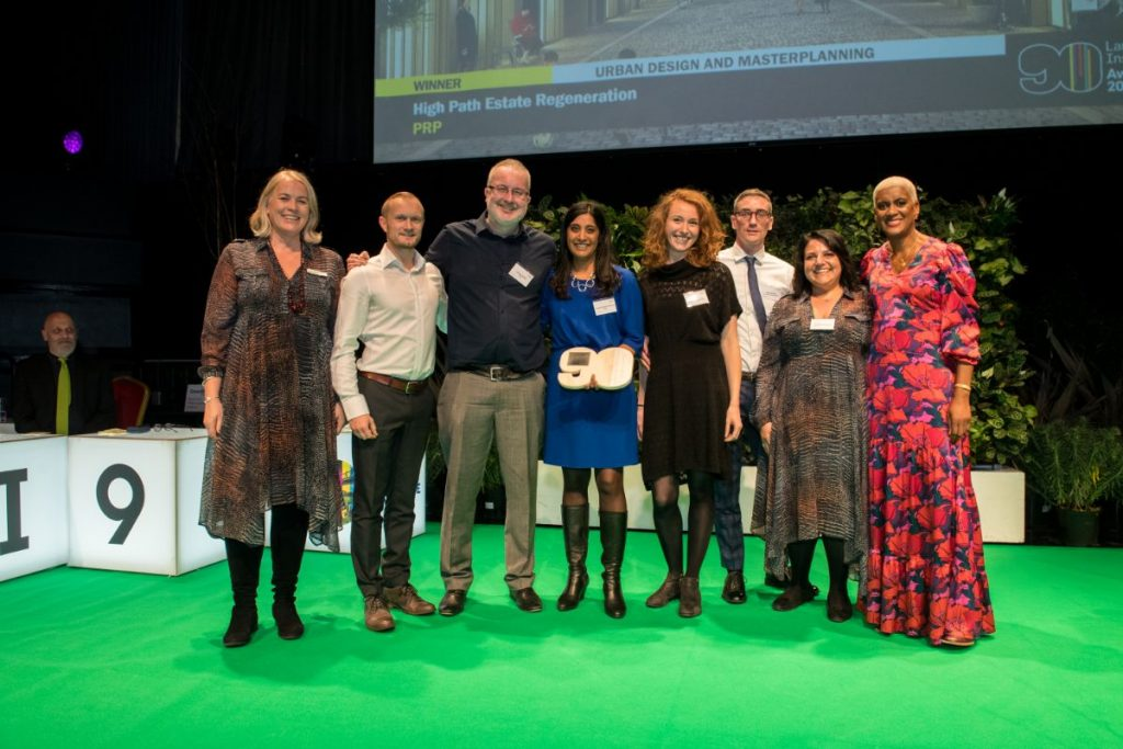 High Path wins Urban Design and Masterplanning award  at Landscape Institute Awards 2019
