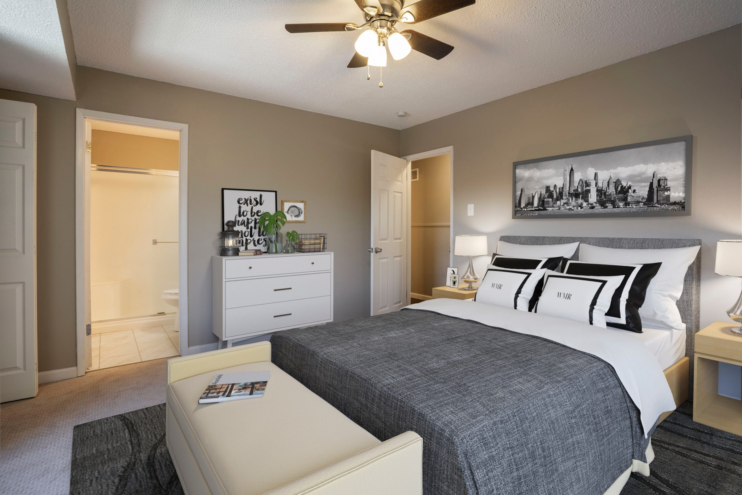 Why choose an Ottoman fabric storage bed for your master bedroom?