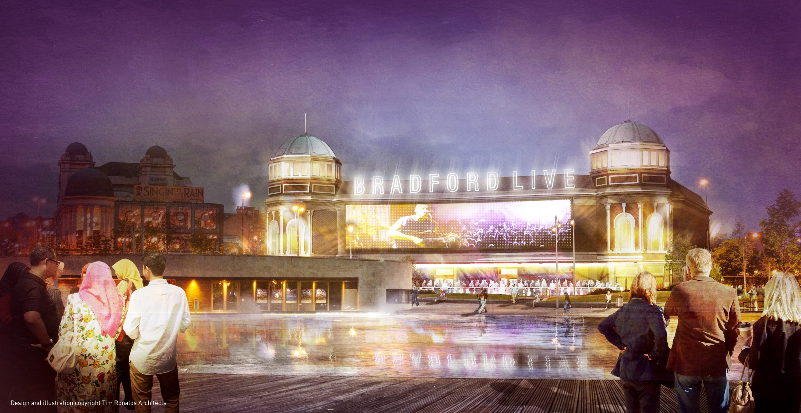 TURNER & TOWNSEND APPOINTED TO PROJECT MANAGE COMPLETION OF BRADFORD LIVE
