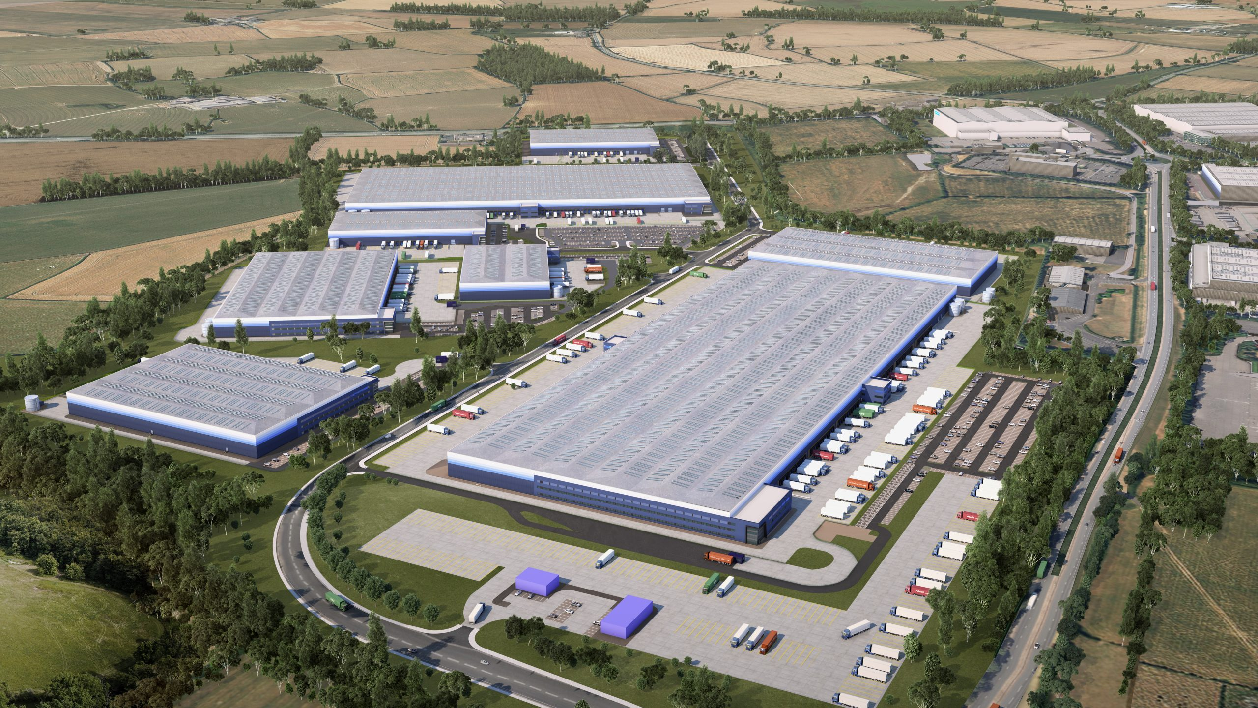 Gazeley to expand Magna Park Lutterworth to 16 million SQ FT