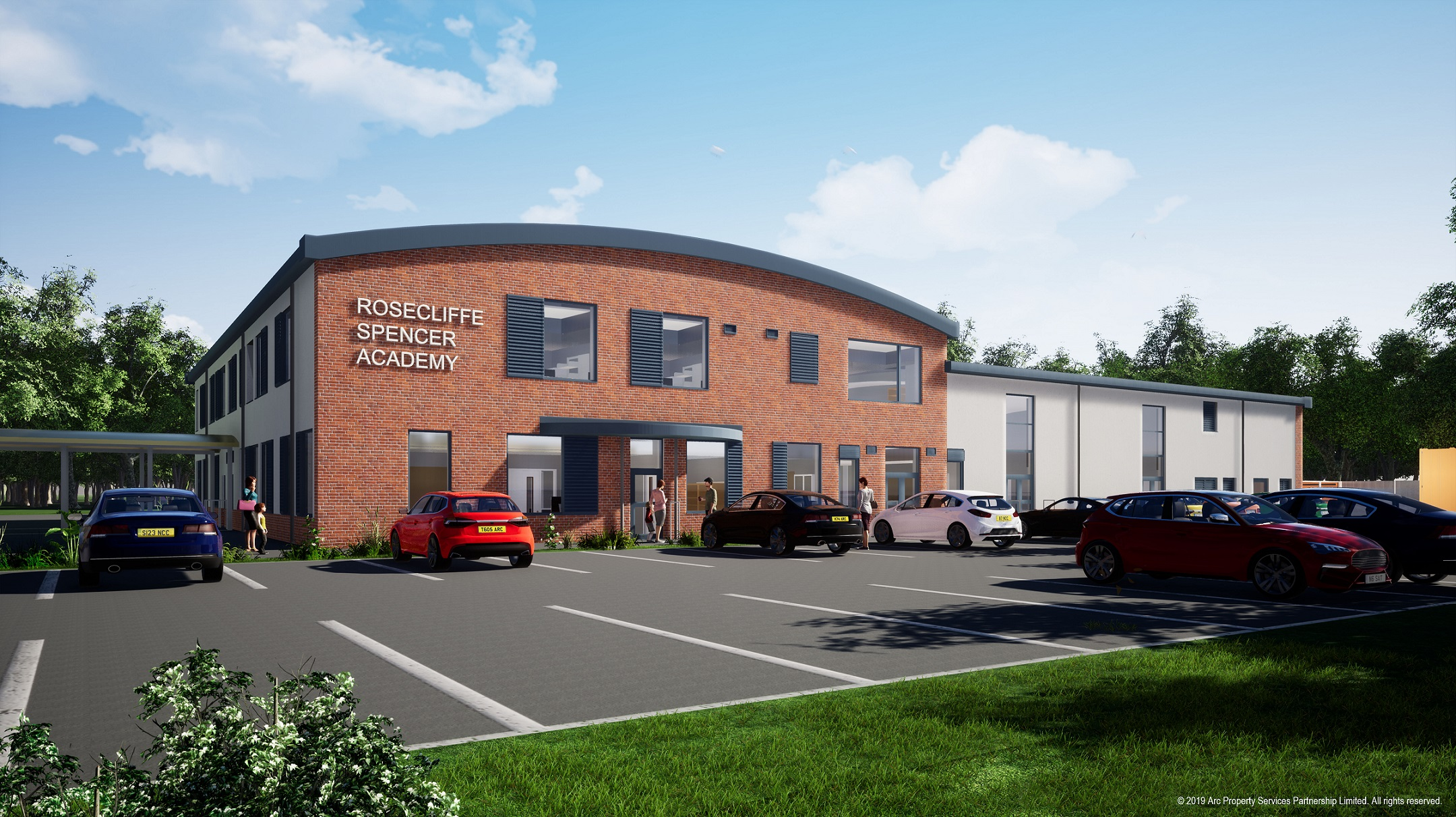 MORGAN SINDALL CONSTRUCTION BREAKS GROUND ON £8 MILLION ROSECLIFFE SPENCER ACADEMY