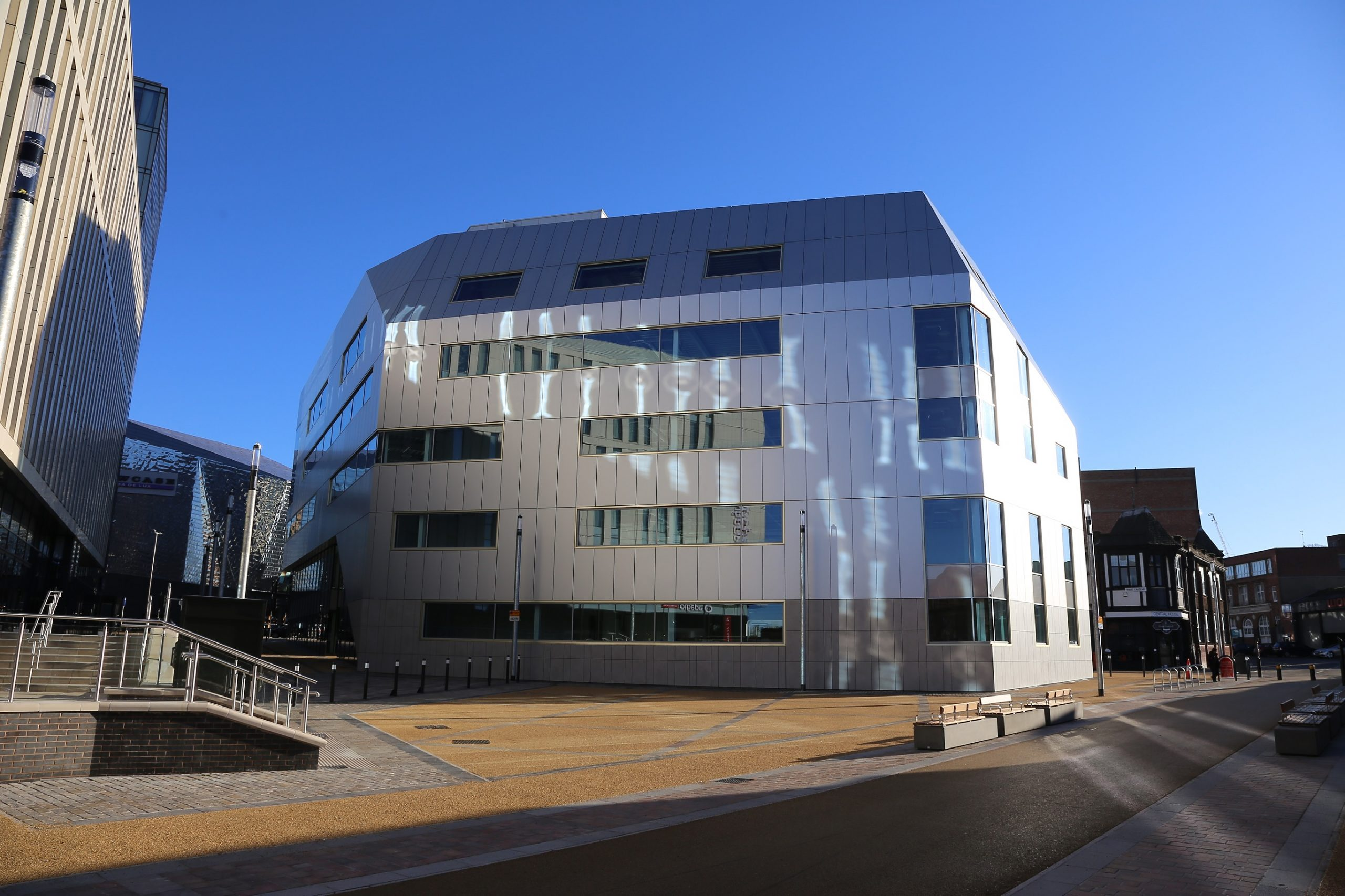 £50 MILLION MIXED-USE LEICESTER REGNERATION SCHEME COMPLETES