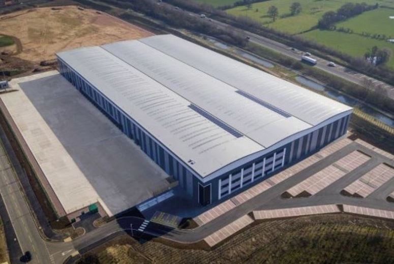 Large warehouse off the A500 bought